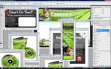 Thumbnail Minisite Template PSD Graphics - Camtasia Video Profits