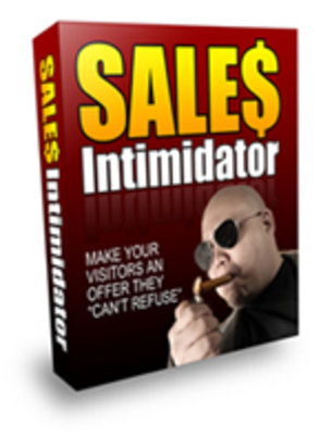 Product picture Sales Intimidator - plr+free bonus