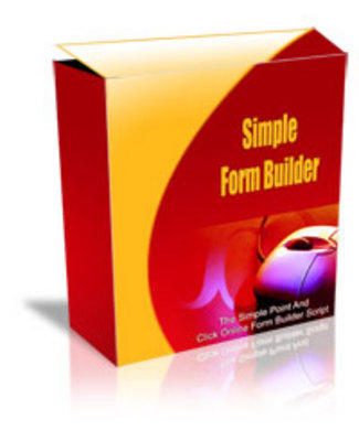 Product picture Simple Form Builder Script - mrr+free bonus
