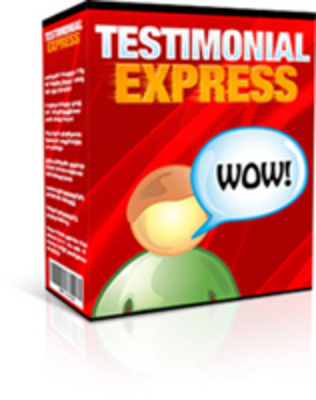 Product picture Testimonial Express