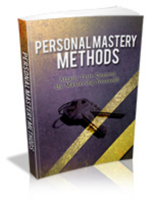 Product picture Personal Mastery Methods - Mrr+Free Bonus