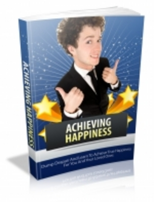 Product picture Achieving Happiness - Mrr+Free Bonus