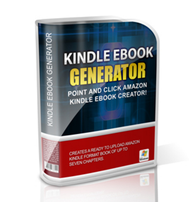 Product picture Kindle eBook Generator - Mrr+Free Bonus