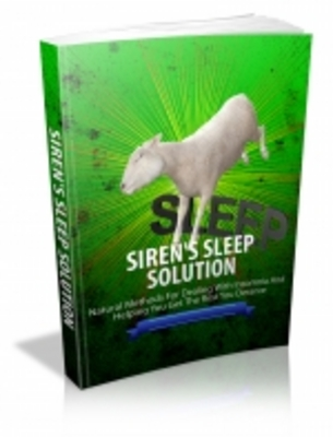 Product picture Sirens Sleep Solution - Mrr+Free Bonus