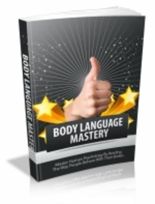Product picture Body Language Mastery - Mrr+Free Bonus