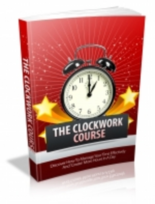 Product picture The Clockwork Course - Mrr+Free Bonus
