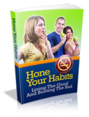 Product picture Hone Your Habits - MRR+Free Bonus