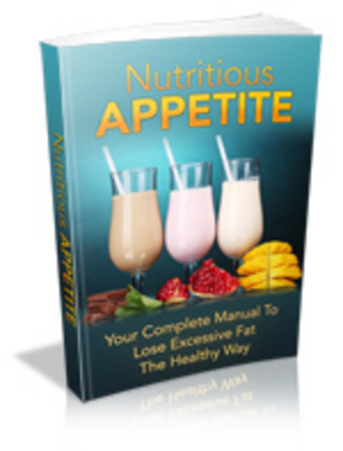 Product picture Nutritious Appetite - MRR