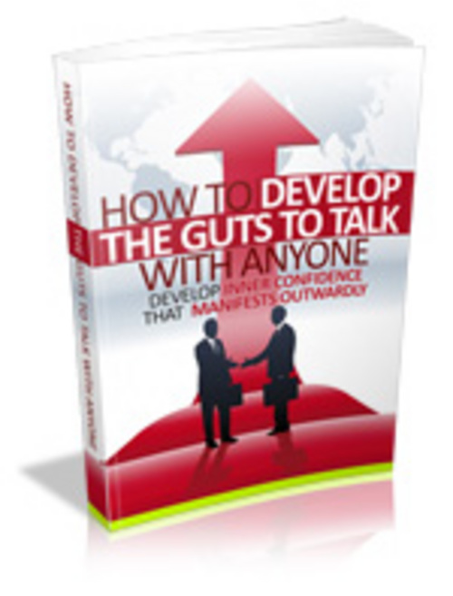Product picture How To Develop The Guts To Talk To Anyone - MRR+Free Bonus