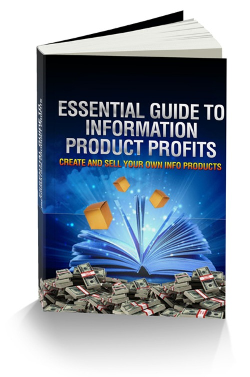 Product picture Introducing The Essential Guide To Information Product Profi