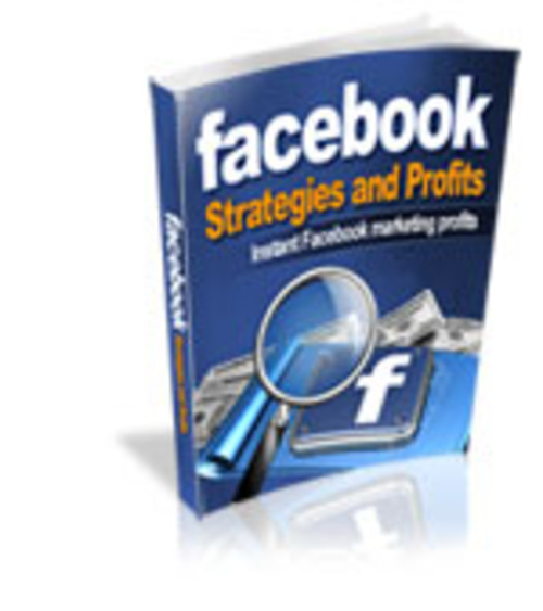 Product picture Facebook Strategies and Profits
